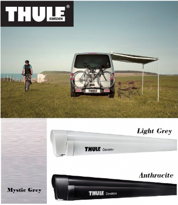 Thule Omnistor 5102 Volkswagen (VW) T5 & T6 260 Awning - Light Grey & Anthracite
